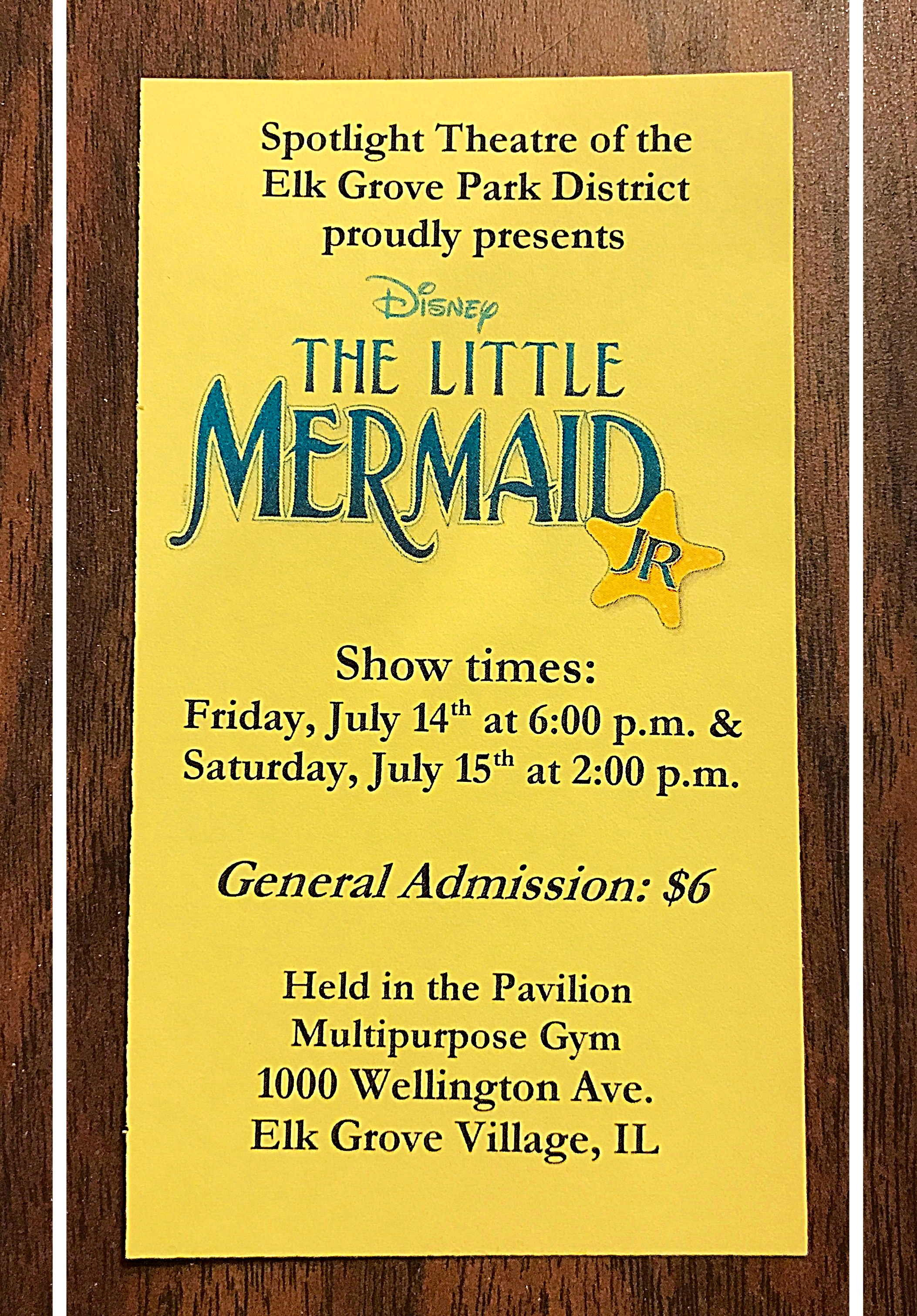 0737a109fdf3 Little Mermaid Jr.! Shout Out for L and L!! – Sing IT Forte