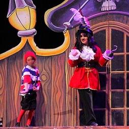 Captain Hook in Peter Pan Jr.