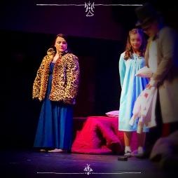 Josephine in Peter Pan Jr. Mrs. Darling