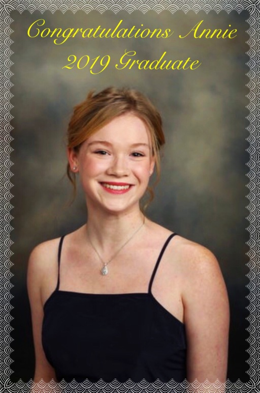Congratulations Annie!